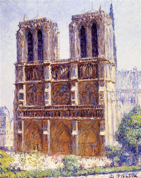 Notre Dame, the Effect of Sunlight, 1906 - Francis Picabia