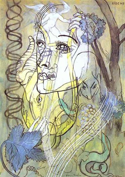 Ridens, c.1929 - Francis Picabia