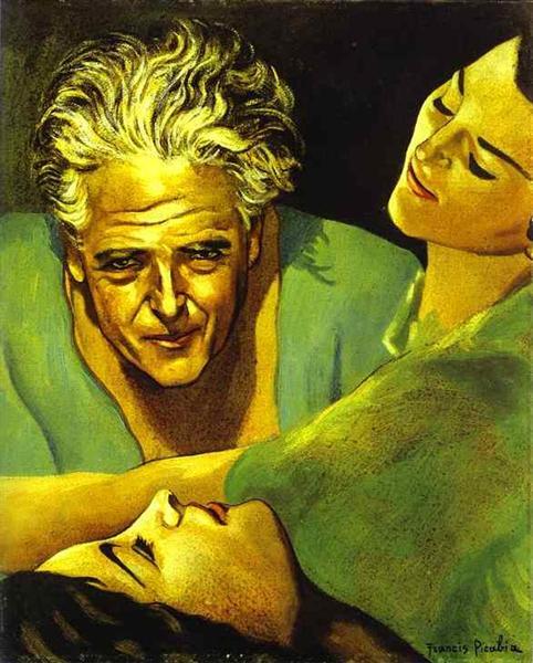 Self Portrait, c.1940 - Francis Picabia