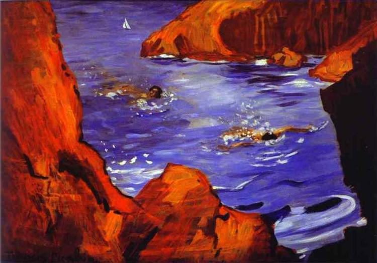 The Creeks, 1942 - 1944 - Francis Picabia