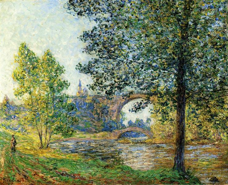 The Eure in the Twilight Sun, 1901 - Francis Picabia
