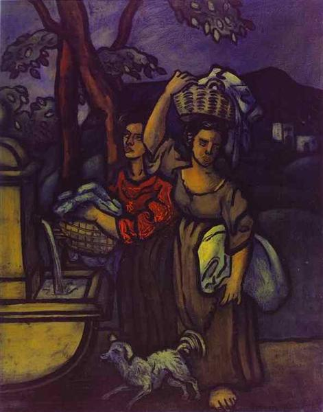 The Laundresses, c.1935 - Francis Picabia