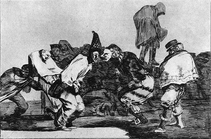 Absurdity of Carnival, 1816 - 1823 - Francisco Goya