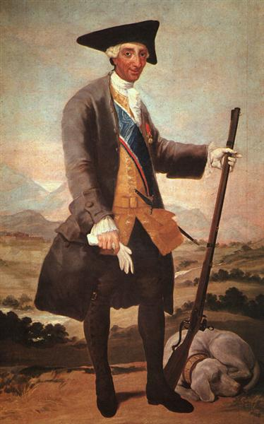 Charles III, 1786 - 1788 - Francisco Goya
