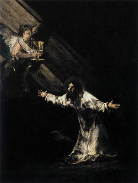 Christ on the Mount of Olives, 1819 - Francisco Goya