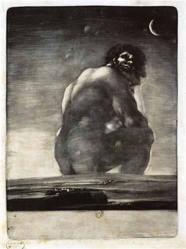 Colossus - Francisco Goya