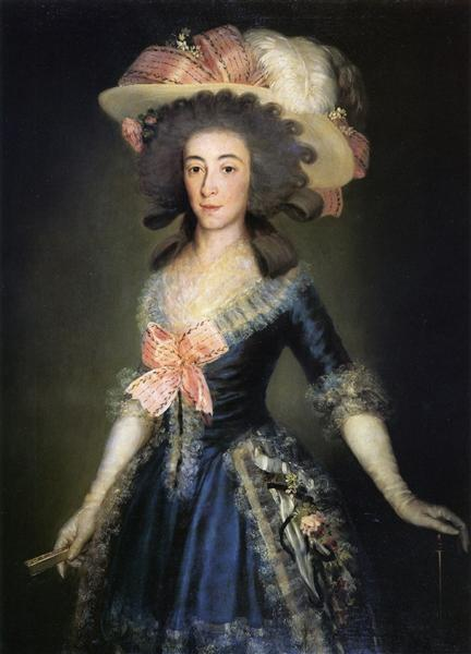 Duchess Countess of Benavente, 1785 - Francisco Goya