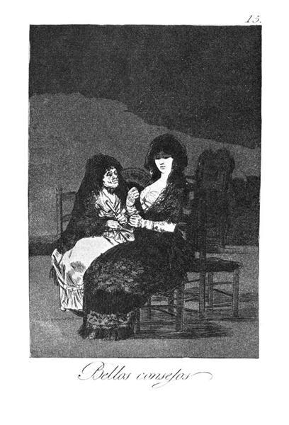 Fine advice, 1799 - Francisco Goya