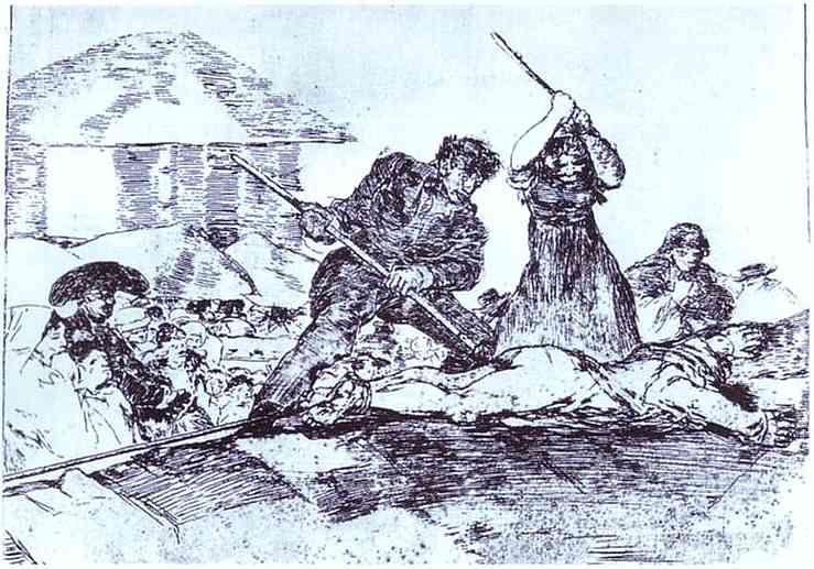 Mob, 1812 - 1814 - Francisco Goya