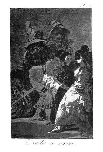 Nobody knows anybody, 1799 - Francisco Goya