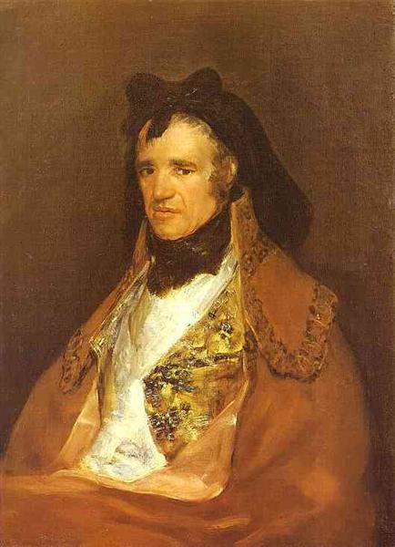Portrait of Pedro Mocarte, a Singer of the Cathedral of Toledo, 1806 - Francisco Goya