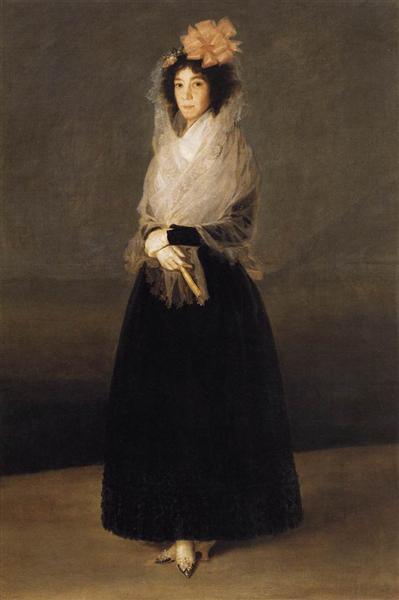 Portrait of the Countess of Carpio, Marquesa de la Solana, 1793 - Francisco Goya
