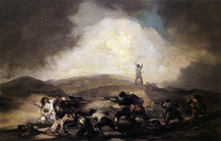Robbery, c.1794 - Франсиско де Гойя