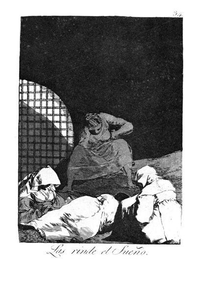 Sleep overcomes them, 1799 - Francisco Goya