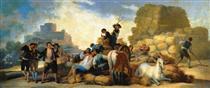Estate, o The Harvest - Francisco Goya
