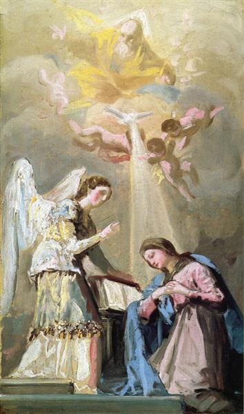 The Annunciation, c.1785 - Francisco Goya