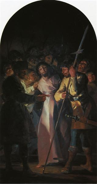 The Arrest of Christ, 1788 - Francisco Goya