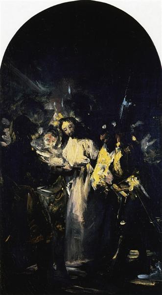 The Arrest of Christ, 1798 - Francisco de Goya