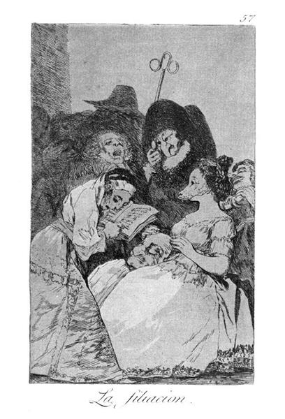 The lineage, 1799 - Francisco Goya
