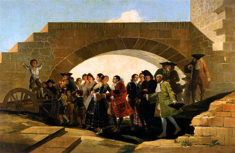 The Wedding, 1791 - 1792 - Francisco Goya