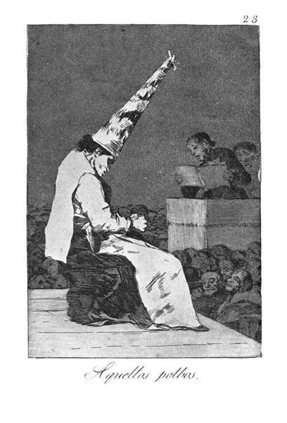 Those Specks of Dust, 1799 - Франсиско де Гойя