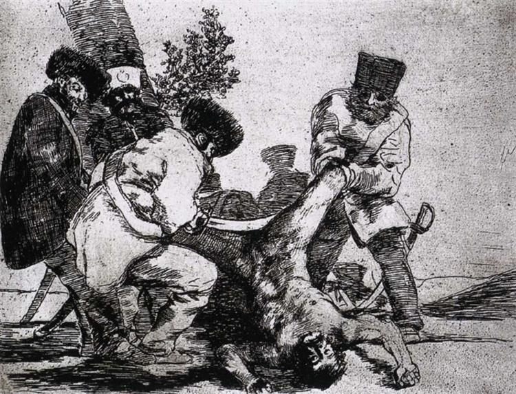 What more can one do?, 1812 - 1815 - Francisco Goya