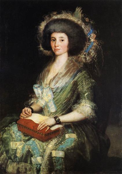 Wife of Juan Agustín Ceán Bermúdez, c.1785 - Francisco Goya