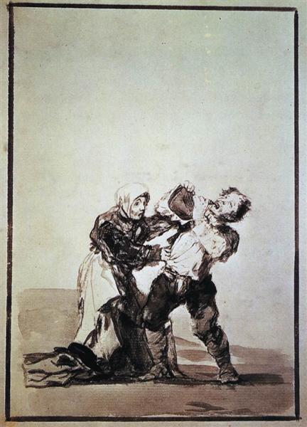 You'll see later, c.1816 - c.1820 - Francisco de Goya