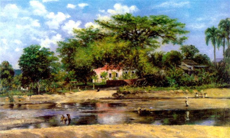 A paineira de Ponce - La ceiba de Ponce - Francisco Oller