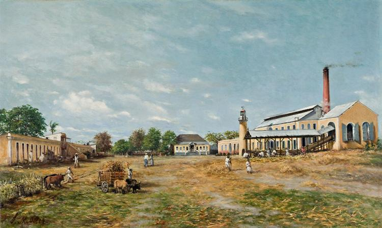 Hacienda La Fortuna - Francisco Oller