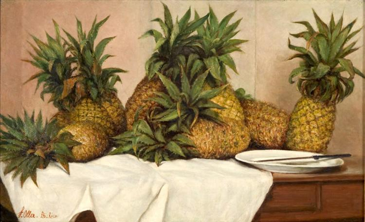 Pineapples, 1890 - Francisco Oller