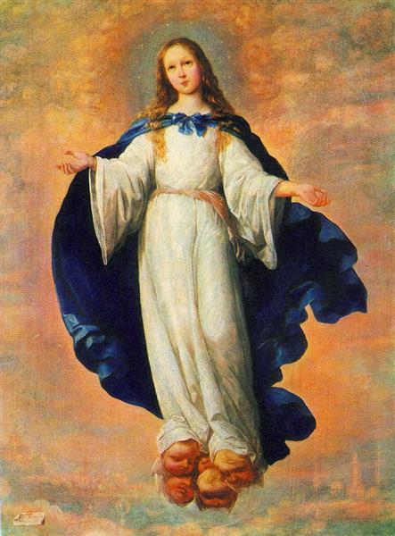 The Immaculate Conception, 1661 - Francisco de Zurbaran