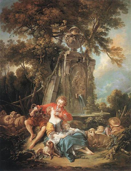 An Autumn Pastoral, 1749 - Francois Boucher