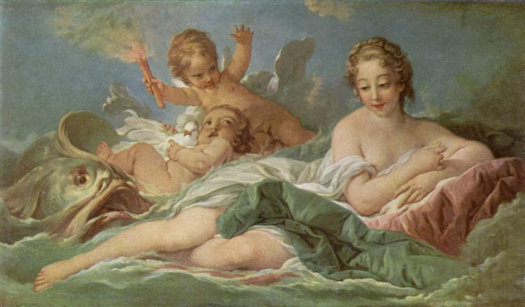 Birth of Venus, c.1750 - Francois Boucher