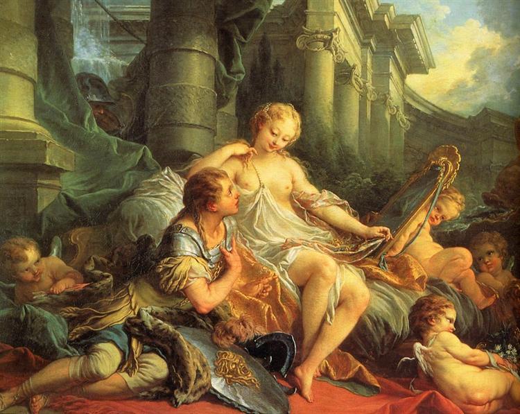 Rinaldo and Armida - Francois Boucher