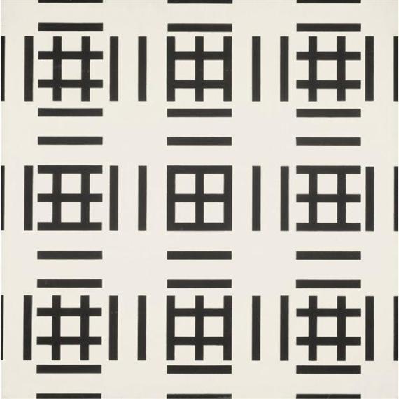 Sérigraphie unique au monde, 1970 - Francois Morellet