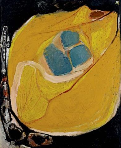 Black Edge II, 1962 - Frank Lobdell