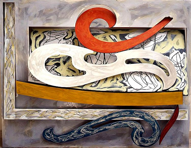 Eskimo Curlew, 1976 - Frank Stella