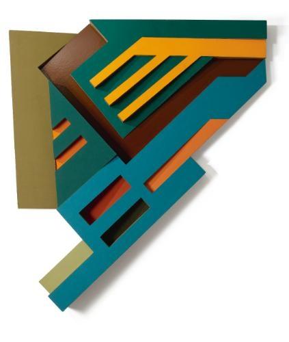 Olkienniki III, 1972 - Frank Stella