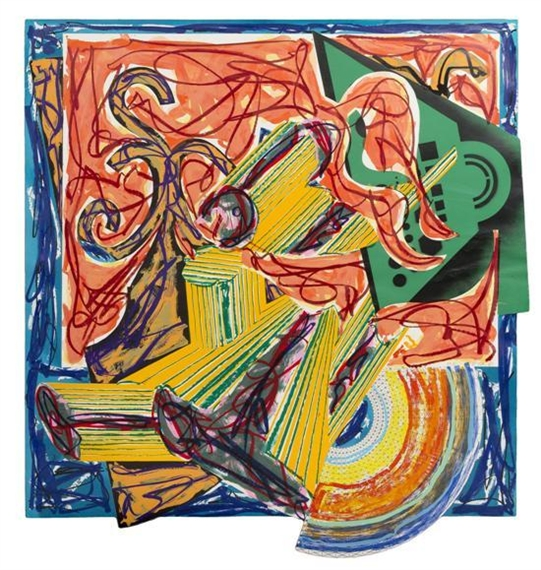 The Butcher Came and Slew the Ox, 1984 - Frank Stella