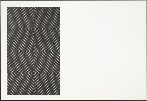 Tuxedo Park (from Black Series II), 1967 - Frank Stella