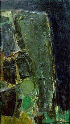 Untitled (Green), 1957 - Frank Stella