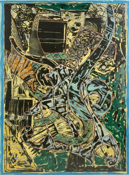 Yellow Journal, 1982 - Frank Stella