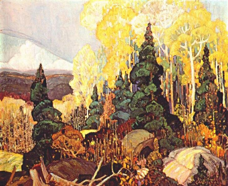 Autumn Hillside, 1920 - Franklin Carmichael