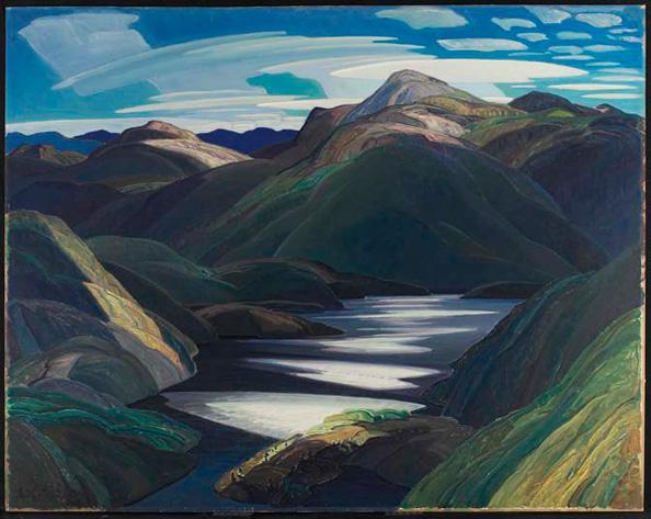 Light and Shadow, 1937 - Франклин Кармайкл