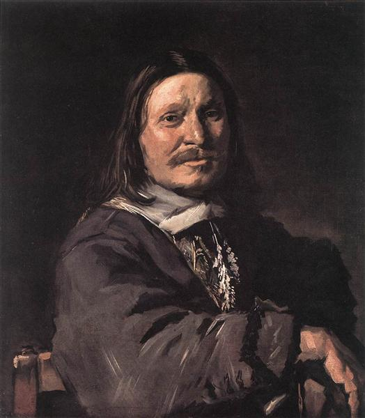 Portrait of a Seated Man, 1660 - 1666 - Франс Галс