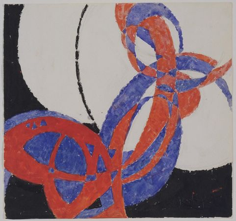 Replica of Fugue in Two Colors: Amorpha, 1912 - Frantisek Kupka