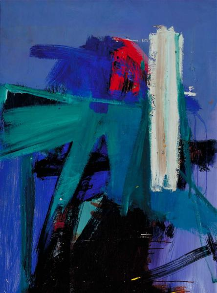 Blueberry Eyes, 1960 - Franz Kline