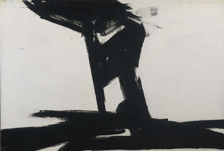 Untitled, 1961 - Франц Клайн