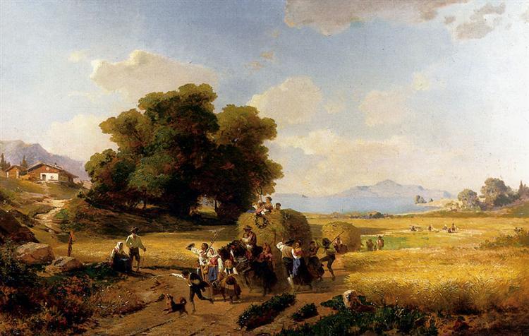 El último día de la cosecha - Franz Unterberger Richard